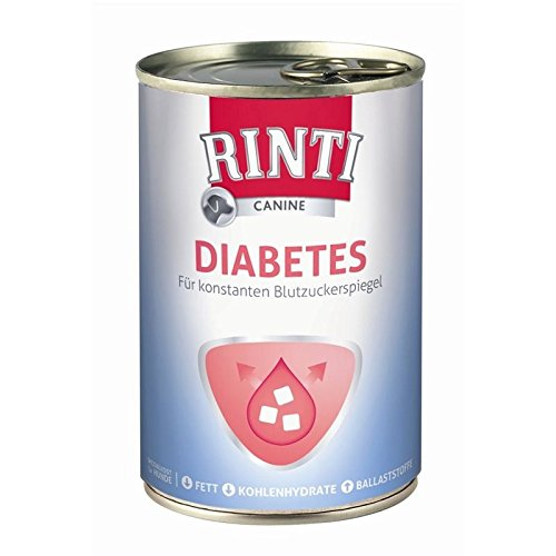 Rinti Canine Diabetes | 12x 400g Diätfutter für Hunde