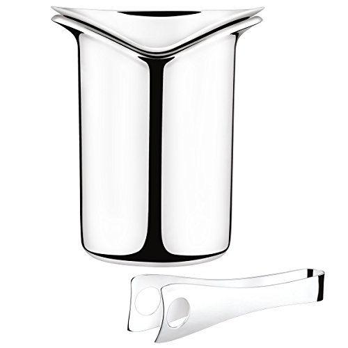 george-jensen-gj-083790-bock-glace-avec-pince-acier-inoxydable-stainless-steel-185-x-244-x-233-cm