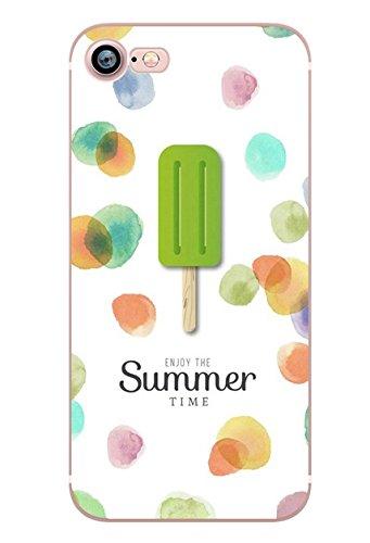 iPhone 5 5S SE Handyhülle Schutzhülle Hülle Silikon Cover Case Ultra Dünn Slim 4.0 TPU Summer Time