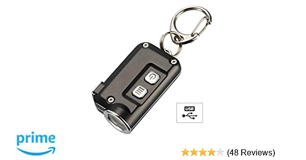 Nitecore TINI Keyring Torch - Super Bright USB Rechargeable - Small Torch  380Lm