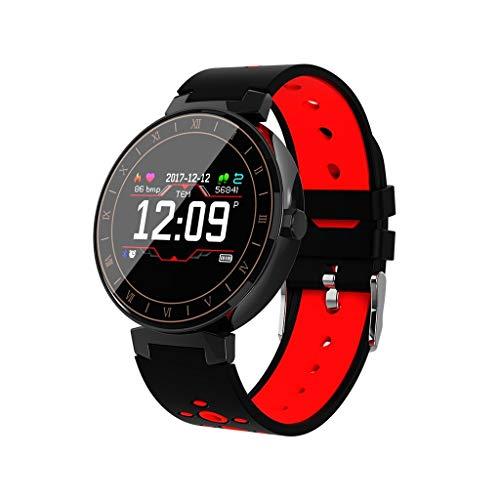 Fitness Armband mit Pulsmesser Blutdruck,Elospy Wasserdicht IP68 Sport Fitness Tracker Smartwatch Aktivitätstracker Pulsuhren Blutdruckmesser Vibrationsalarm Anruf für iOS Android Handy