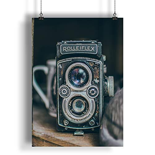 INNOGLEN Cámara clásica Antigua Retro Vintage A0 A1 A2 A3 A4 Poster de Fotos Satinado a277h