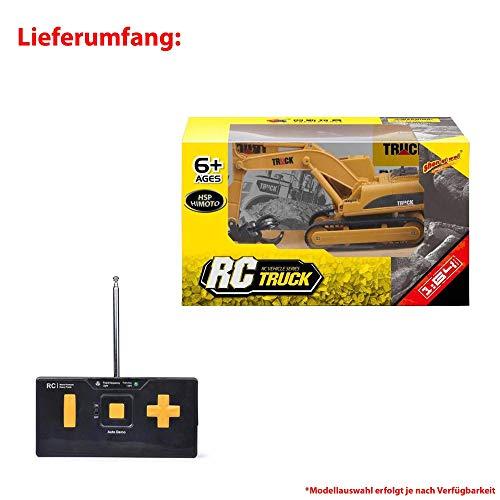 RC Auto kaufen Baufahrzeug Bild 6: HSP Himoto RC Ferngesteuerter Mini Raupenbagger Bagger Truck Baustellen-Fahrzeug, 1:64 Maßstab Modell, eingeb. Akku, Komplett-Set RTR*