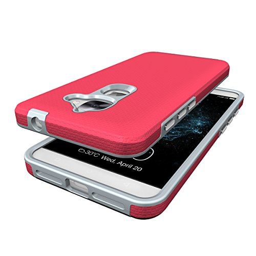 LE2 Coque,EVERGREENBUYING Ultra Slim léger 2 en 1 X620 Cases Housse Etui de protection Anti-dérapant hybride Cover pour Letv Le 2 Violet Rose