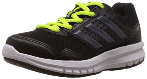 adidas Duramo 7, Running Mixte Enfant Noir (Core Black/Dark Grey/Solar Yellow)