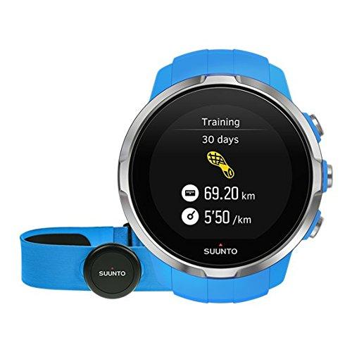 Suunto Spartan Sport HR - Reloj GPS para Atletas Multideporte, 10 h Ba