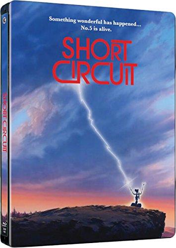 Nummer 5 Lebt - Short Circuit, Steelbook, Blu-ray, ohne deutschen Ton, Zavvi exklusiv, Uncut, Regionfree, Bern-shorts
