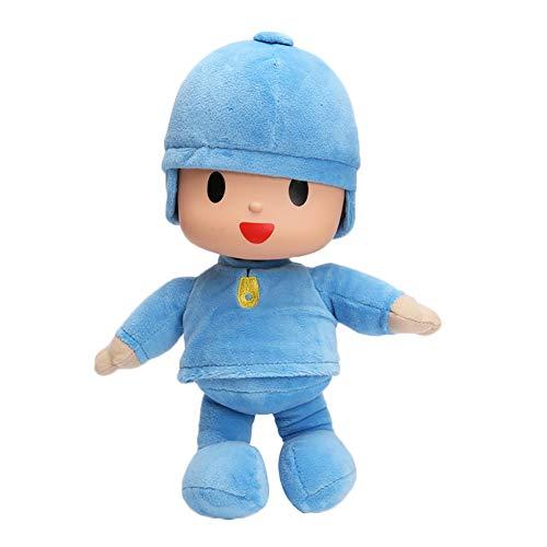AngryMan Muñeca de Peluche Animal Regalo de cumpleaños, Juguete de Peluche para niños, Elefante Rosa, Pato Barto, Perro Lula