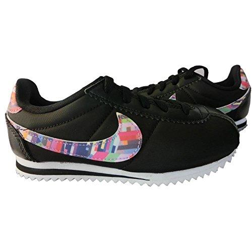 Nike Mädchen 859565-001 Turnschuhe BLACK/HYPER VIOLET-H