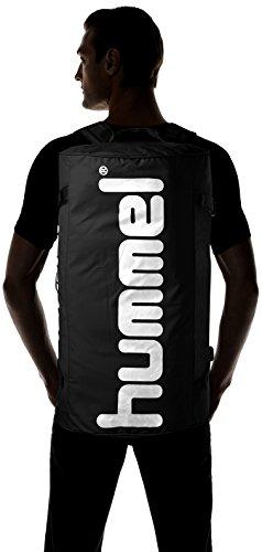 Hummel 40961 Poloxxta Tech Sports Borsa Nero - nero
