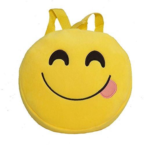 Imagen de esailq bolsos  de emoticon emoji lindo mini para adolescentes mujer niñas estudiantes i