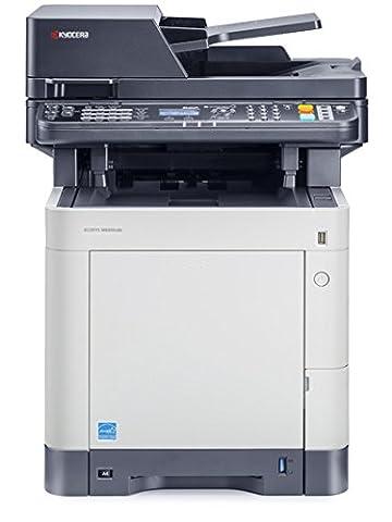 Kyocera Ecosys M6030cdn Farblaser-Multifunktionsgerät (Drucker, Scanner,Kopierer, 600 x 600 dpi, USB 2.0,
