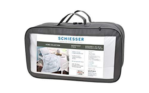 Schiesser Kinder-Betten-Set Schaf / 100 cm x 135 cm Bettdecke + 40 cm x 60 cm Kopfkissen.