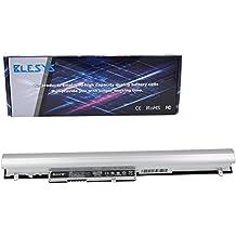 BLESYS - 2600mAh HP TouchSmart 15-g063nf batería, HP Pavilion 15-N010SL batería, HP Pavilion TouchSmart 14 15 248 340 350 de la batería HP PAVILION 15-N287CL batería portátil de la serie para reemplazar LA04 LA04041 LA04041DF F3B96AA HSTNN-UB5M HSTNN-UB5N HSTNN-IB5S HSTNN-YB5M HSTNN-Y5BV 728460-001 TPN-Q129 NPT-Q130 NPT-Q131 TPN-Q132 28460-001 728461-001 (Negro + plata)
