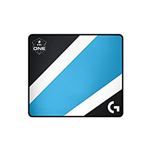 Logitech G640 Gaming Maus Pad ESL Edition, schwarz/blau