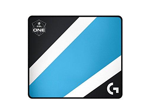 Logitech G640 Gaming Maus Pad ESL Edition, schwarz/blau -