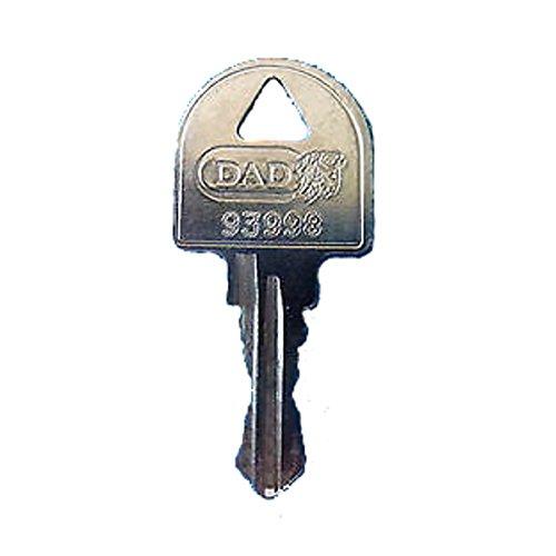 DAD/MSM / Altus/Leabox Ersatzschlüssel - Schließung 9001 bis 9494 - Nachschlüssel - Zusatzschlüssel - Briefkastenschlüssel - Schließung 9248