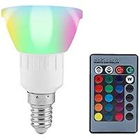 3W E12 RGB LED 16 Farbwechsel Kerzen Lampe Glühbirne Licht Fernbedienun w//