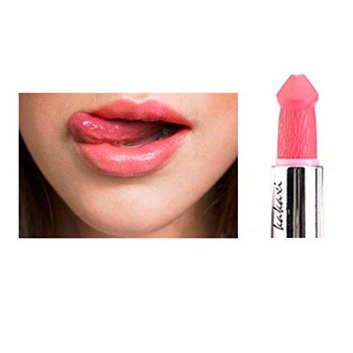 ESAILQ Frauen Populäre Penis Form Lippenstift Pilz Vampir Kuss Lipgloss Hot Sales