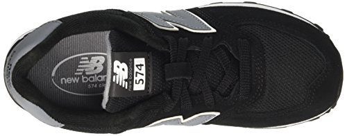 New Balance Kl574cug M, Baskets Basses Mixte Enfant Noir (Black)