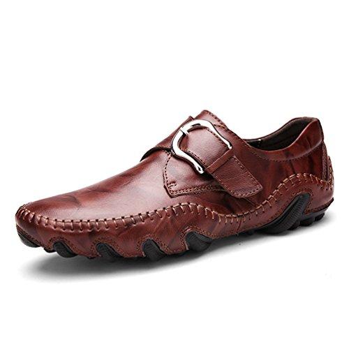 Uomini mocassini moda morbidi mocassini di alta qualità vera pelle scarpe uomo flats
