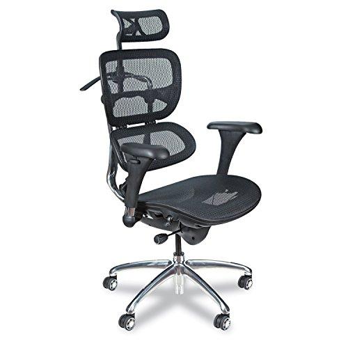 Balt Möbel (Balt Butterfly Chefsessel Tablet Arm-Zubehör Bürostuhl im Design eines baltischen Schmetterlings High-Back schwarz)
