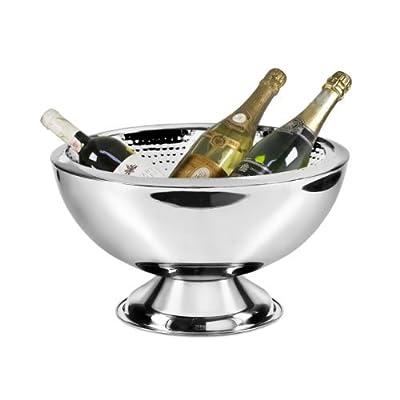 Edzard 105 Liter Champagnerkhler Cadiz Mit 43 Cm Durchmesser Innen Gehmmert Doppelwandig Fr Bessere Isolierleistung Sektkhler Flaschenkhler Weinkhler