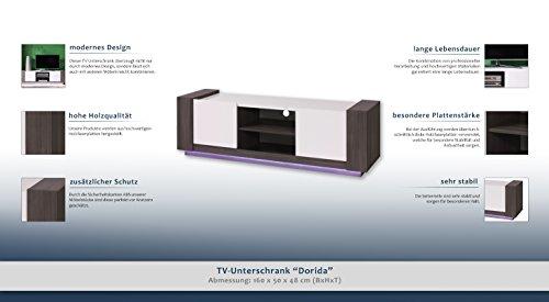 """TV-Unterschrank """"Dorida"""" – Abmessungen: 160 x 50 x 48 cm (B x H x T) - 2"""