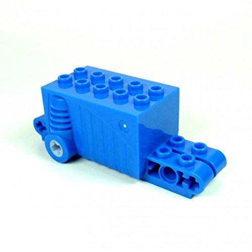 1 x Lego Technik Rückzieh Motor blau Aufziehmotor Motorrad Auto 47715 pull back A28 (Motor Back Lego Pull)