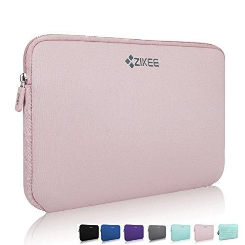 zikee-funda-protectora-para-portatiles-de-116-rosado-estuche-protector-de-neoprene-compatible-con-ac