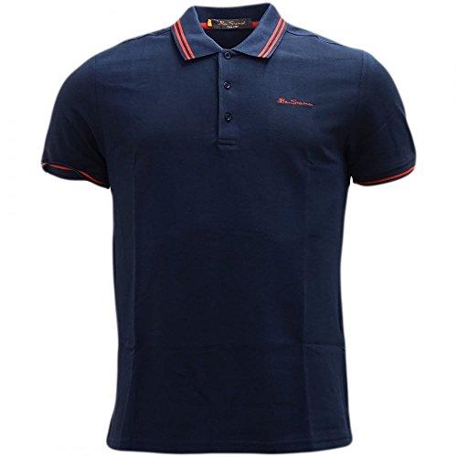Ben sherman - camicie polo - manica corta - uomo (marina militare) l