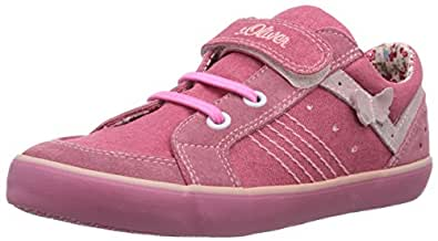 s.Oliver  44209, Sneakers basses fille - Rose - Pink (Mauve 502), Taille 34 EU
