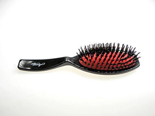 Brosse A Soufflets Rouge Ovale Moyen Modèle - Noir - Accessoire Cheveux