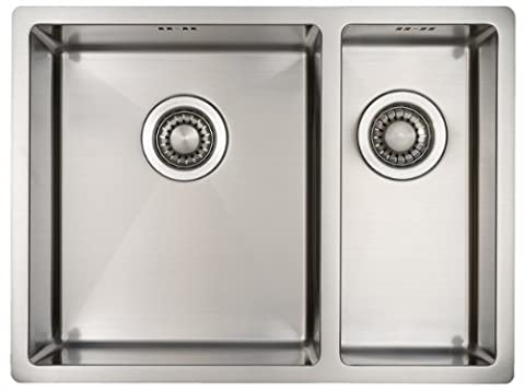 Plan Vasque Verre - Evier de cuisine Mizzo Design Linea 34-18