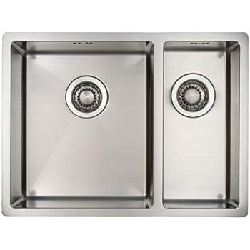 Lavello da Cucina in Acciaio Inossidabile Mizzo Design 34-18 ...