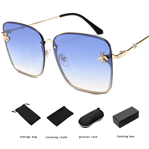 YANGPEI Damen Sonnenbrille Classic & Aviator Sonnenbrille & UV400,D