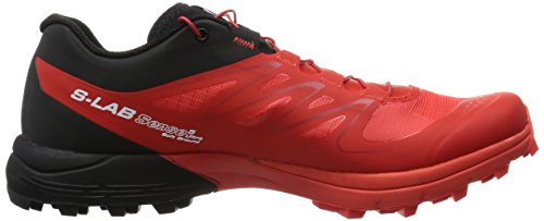 Salomon Unisex-Erwachsene S-Lab Sense 5 Ultra Sg Traillaufschuhe Rot (Racing Red/Black/White)
