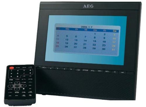 AEG CTV 4910 17,8 cm (7 Zoll) Tragbarer LCD-Fernseher (DVB-T Tuner, UKW-Tuner, SD-Kartenslot, USB 2.0) schwarz