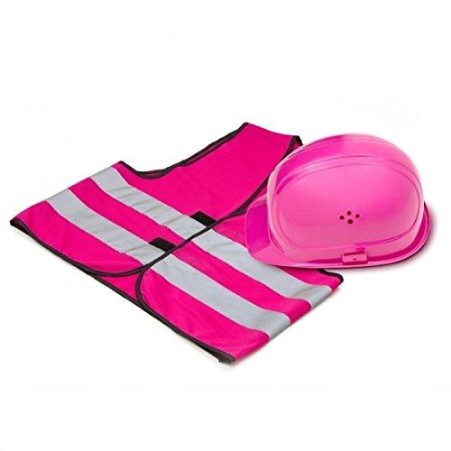 missfixx - Schutzhelm und Weste - pink