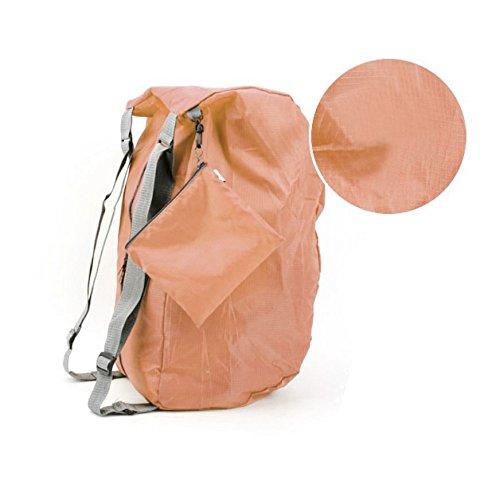 Rucksack Daypack Reiserucksack Trekkingrucksack wasserdichter faltbarer Bergsteigen Tasche koreanische Umhängetasche für Freizeit und Outdoor 20-35L Rosa