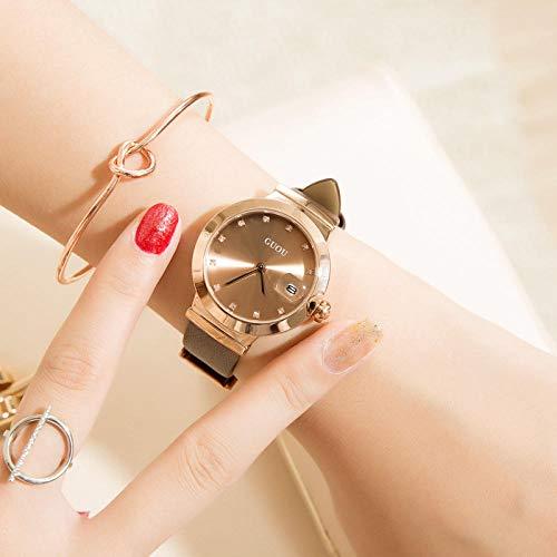 Correa Reloj Reloj Moda Correa Simple A Prueba De Agua Damas Frescas