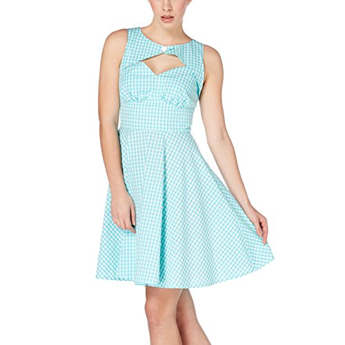 Voodoo Vixen Kleid Gracey Dress 8067 Blau M