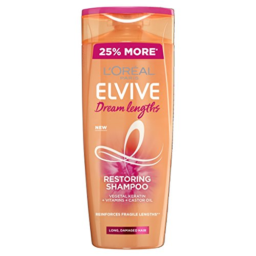 L'Oreal Elvive Dream Lengths Long Hair Shampoo, 500 ml