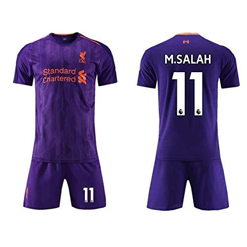 21081e5f5a7b6 YSYSW Liverpool F.C.-Mohamed Salah 11 Short-Sleeved T-Shirt Shorts Jersey  Home Football Training Suit Sportswear Suit Football t-Shirt,Football  Summer ...