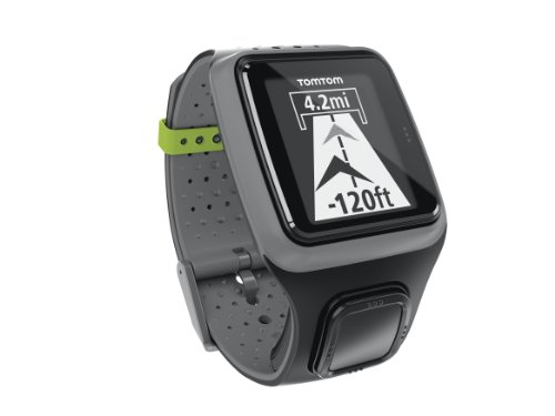 TomTom GPS Sportuhr Runner, Dark Grey, One size, 1RR0.001.00 -