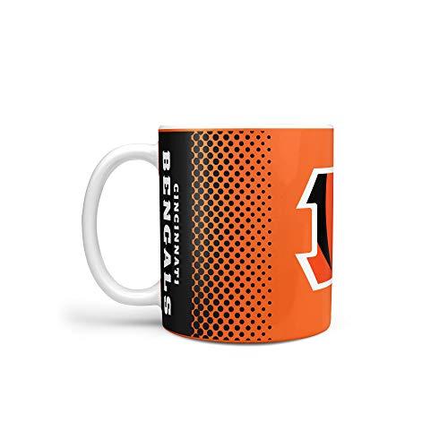 NFL Football CINCINNATI BENGALS Kaffeetasse Tasse Mug Fade