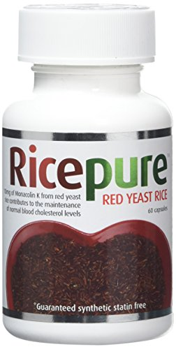 RicePure Red Rice Yeast Capsules Pack of 60 Test