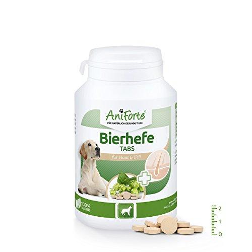 AniForte Bierhefe Tabs 250 Stk. - Naturprodukt für Hunde (Bierhefe Tabs)