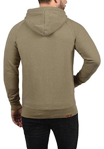 !Solid Vitu Herren Sweatjacke Kapuzenjacke Hoodie Mit Kapuze Und Reißverschluss Aus 100% Baumwolle, Größe:S, Farbe:Sand Melange (8409) - 3