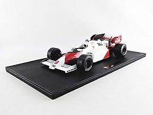 GP REPLICAS GP12-05A - Coche en Miniatura de colección, Color Blanco y Rojo